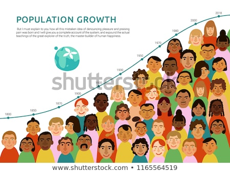 Global population growth Stock photo © devon