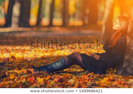 Portre esmer genç bayan rainforest orman Stok fotoğraf © konradbak