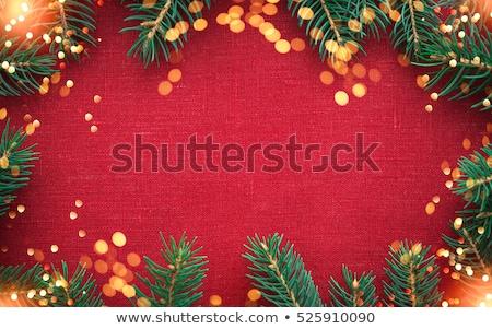 2017 holiday background with shiny lights Stock photo © SArts