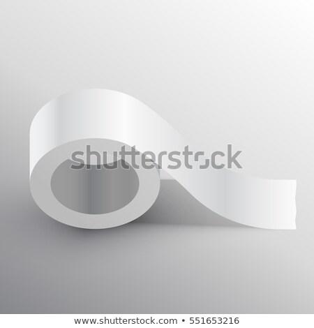 клей шаблон бумаги пространстве Сток-фото © SArts