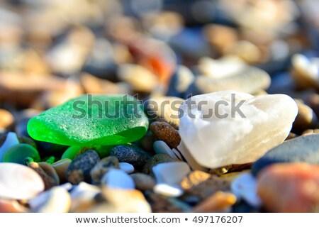 üveg kavics textúra kő szín tiszta Stock fotó © mady70