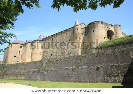 Castelo sedan arquitetura história estrutura antigo Foto stock © njaj