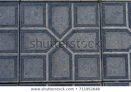 Texture of Gray Scuffed Pavement, Geometric Forms. Stock photo © tashatuvango