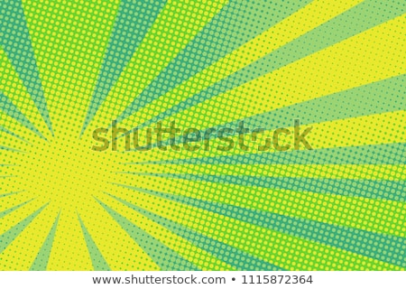 colorful radial halftone background design Stock photo © SArts