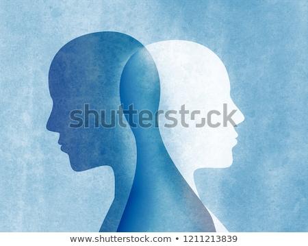 personalidade · saúde · mental · psiquiátrico · doença · ilustração · 3d - foto stock © tashatuvango