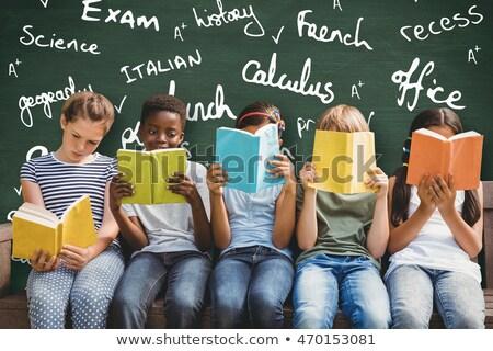 francese · apprendimento · lingua · insegnante · studente · iscritto - foto d'archivio © tashatuvango