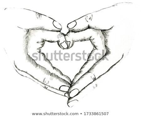 desenho · mão · governante · planos · projeto · lápis - foto stock © photo25th