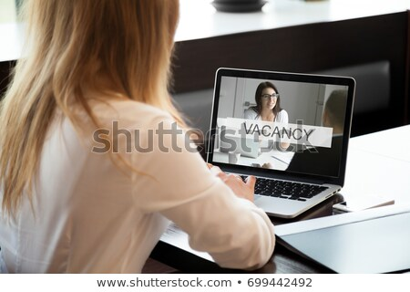 Now Hiring Software Sales Executive. Stock photo © tashatuvango