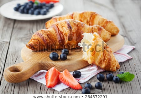vers · croissants · twee · textiel - stockfoto © yuliyagontar