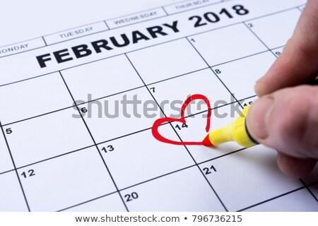 nap · naptár · emlékeztető · illusztráció · vektor · formátum - stock fotó © orensila