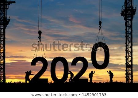 új évek munka ünneplés új év kollégák Stock fotó © alexanderandariadna