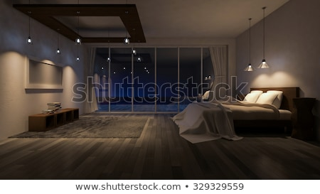 Hotel room at night Stock photo © IS2