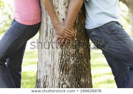 Three young couples holding hands. Stock photo © IS2
