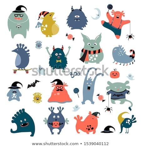 cute strange creature stock photo © blamb