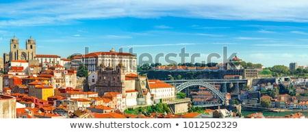 Portogallo città vecchia noto ponte tradizionale barche Foto d'archivio © joyr
