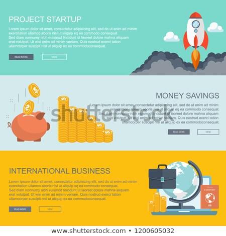 Negócio conceitos projeto começar para cima Foto stock © makyzz