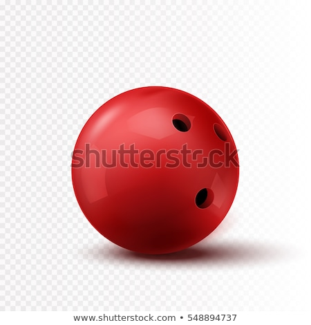 Bowling a ball vector illustration design. Stock photo © Vicasso