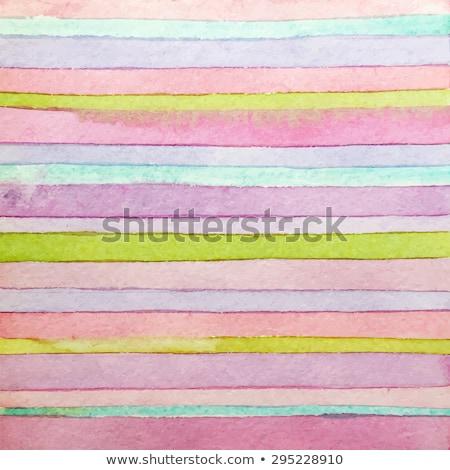 strisce · acquerello · luminoso · colori · scrapbook - foto d'archivio © kollibri