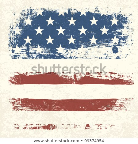 Abstract Version Of The Stars And Stripes Flag Foto stock © pashabo