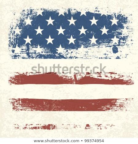 Streszczenie wersja gwiazdki banderą Stany Zjednoczone Zdjęcia stock © stuartmiles