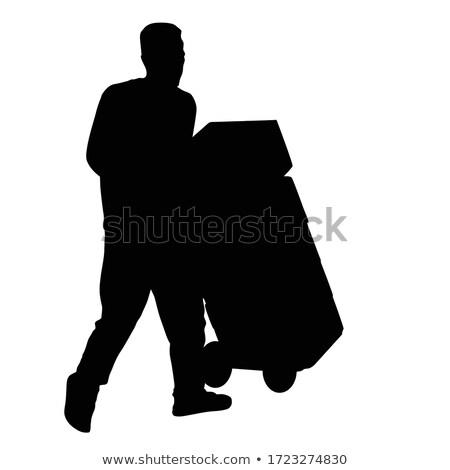 kutuları · ayarlamak · farklı · pozisyonları · eps - stok fotoğraf © colematt