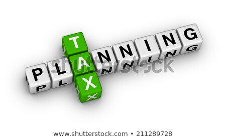 Tax Planning Crossword Concept Stock photo © ivelin