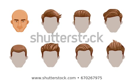 Barbier Homme cheveux styliste vecteur Photo stock © robuart