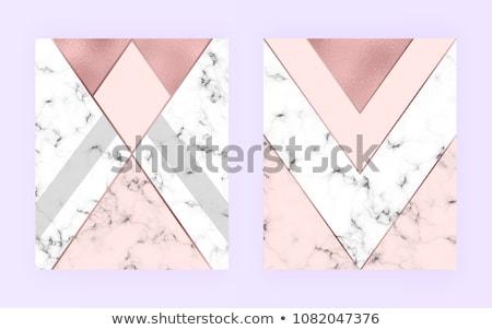 мрамор визитной карточкой дизайна геометрический Сток-фото © SArts