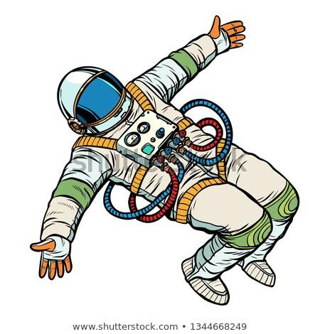 astronaute · personnage · espace · exploration · science · vecteur - photo stock © studiostoks