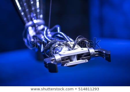 Modern Robotic Arm For Manufacturing Products Stock photo © solarseven