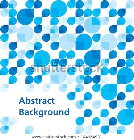 vízcsepp · absztrakt · grafikai · tervezés · sablon · illusztráció · üzlet - stock fotó © haris99