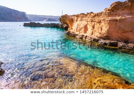 Ibiza Cala Xarraca in Sant Joan of Balearics Stock photo © lunamarina