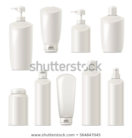 Vector Unlabeled Cosmetic Packaging Set 4 Stock photo © dashadima