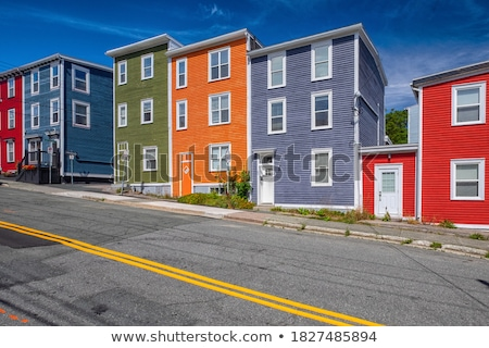 colorful houses in a row stock photo © fyletto