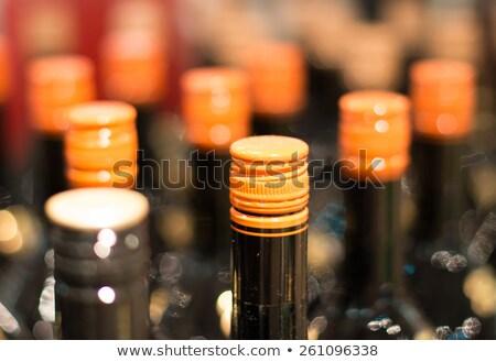 макроса винта стекла бутылок металл Сток-фото © lichtmeister