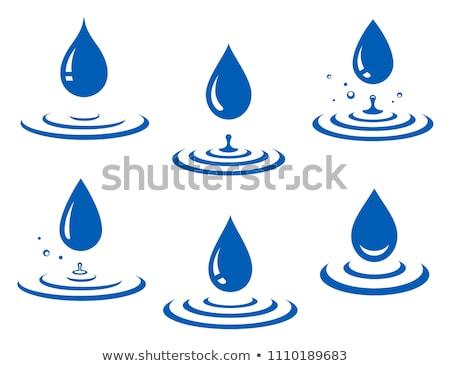 Su dalgalanma renkli eğim ikon Stok fotoğraf © bspsupanut