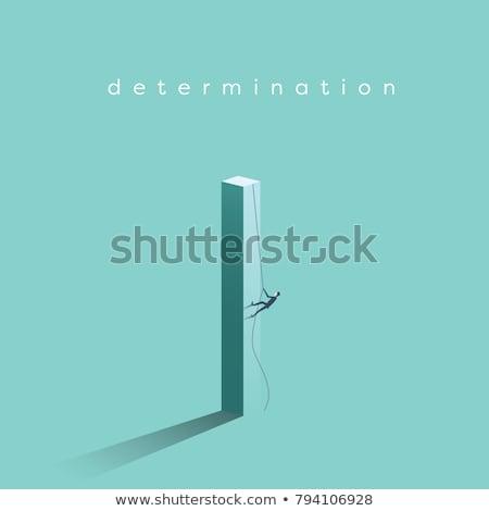 Business Bestimmung Entwicklung Vektor Metaphern Verbesserung Stock foto © RAStudio