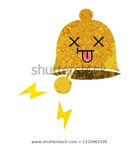 Cartoon bell ringing Stock photo © bennerdesign