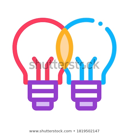 common wit icon vector outline illustration Stock photo © pikepicture