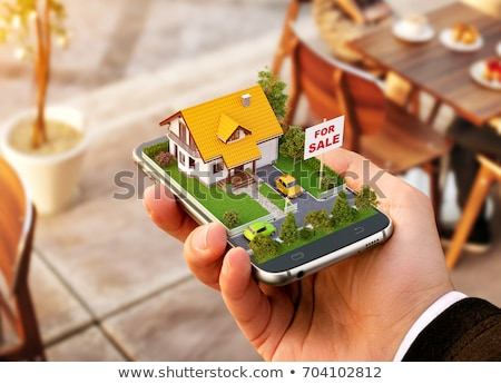 Online Real Estate House Property Search Stock photo © AndreyPopov