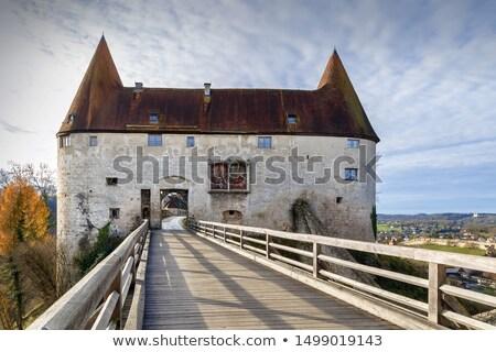 ворот замок Германия стены моста путешествия Сток-фото © borisb17