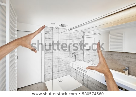 Bathroom renovation interior Stock photo © jossdiim