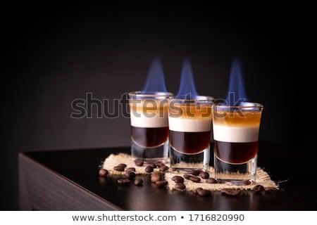 ガラス カクテル レイヤード 食品 パーティ ストックフォト © Alex9500