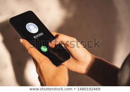 осторожный · женщины · цифровой · фото · женщину · глазах - Сток-фото © spectral