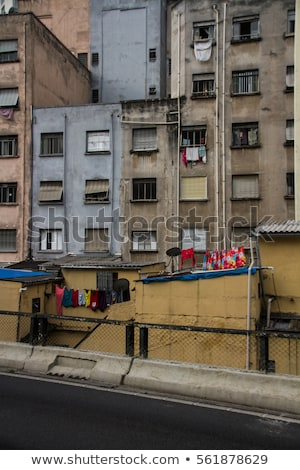 Bina · Sao · Paulo · yoksul - stok fotoğraf © spectral