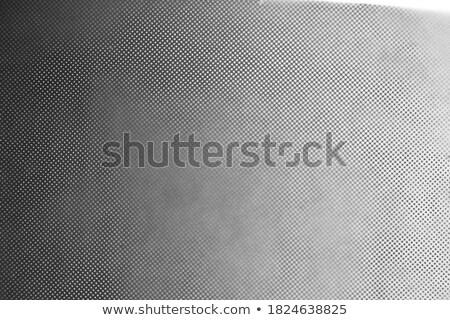 white on black radial checker halftone graphic gradient Stock photo © Melvin07