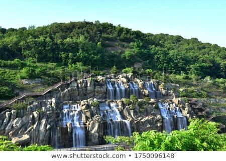 waterval · Italië · brug · architectuur · vallen · stream - stockfoto © dutourdumonde