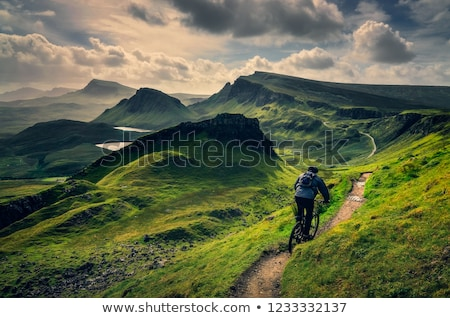 Quiraing landscape Stock photo © Hofmeester