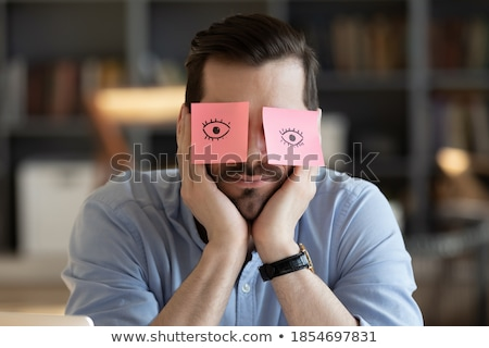 Frustrated businessman in need of inspiration Stock photo © photography33