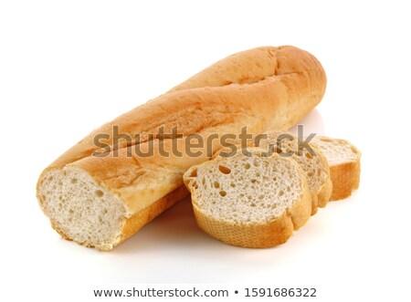 cereales · baguette · baguettes · rústico · madera · fondo - foto stock © ozaiachin